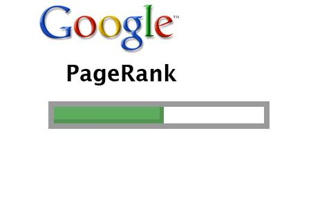 Google PageRank Visibile