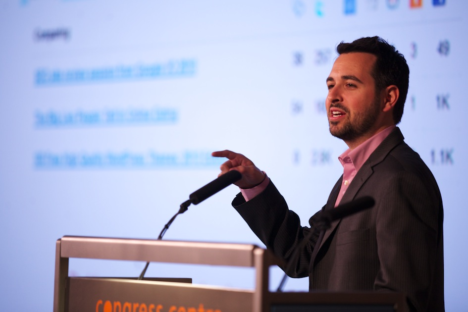 Rand Fishkin at Distilled ProSEO London 2010