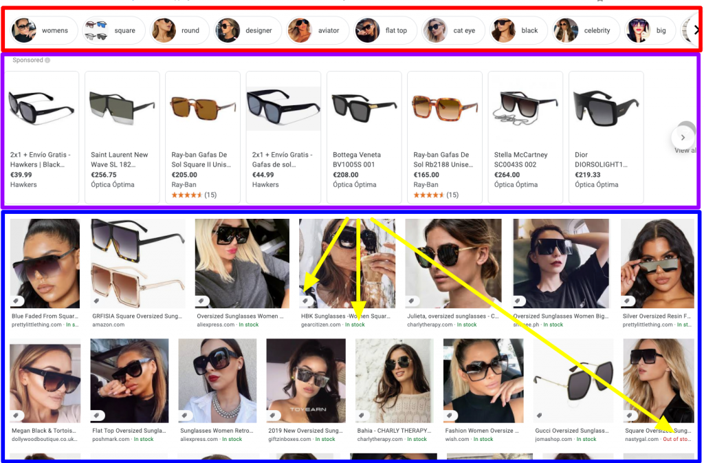 Images Search result for oversized glasses explained